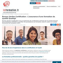 Bureau Veritas Certification - Une garantie de qualité