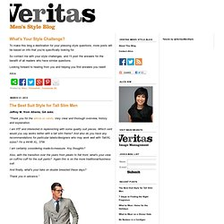 VERITAS | Men's Style Blog