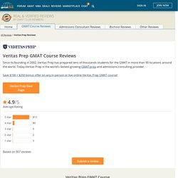 Veritas Prep GMAT Course Reviews