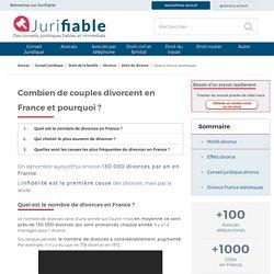 La vérité sur le divorce en France : les statistiques