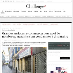 La vérité sur… les fermetures de magasins en centre-ville - Challenges