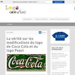 La vérité sur l'histoire des logo de Coca Cola et de Pepsi