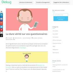 La dure vérité sur vos questionnaires – Dialoog