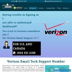 Verizon Customer Service Number {1844-631-2188} Verizon Mail Tech Support