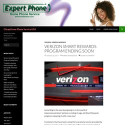 Verizon to End Smart Rewards Program