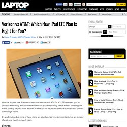 Verizon Offers Up Best LTE Pricing For New iPad