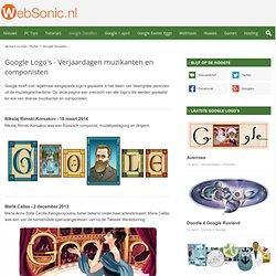 Google Doodles - Verjaardagen: Muzikanten, choreografen, etc.