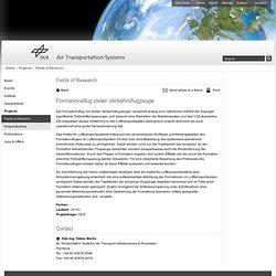 Formation flying civilian airliners? Air Tansportation Systems - Formationsflug ziviler Verkehrsflugzeuge