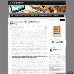 Verkennend rapport over MOOC's van de NVAO
