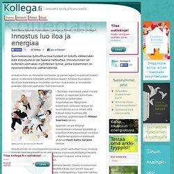 Kollega.fi -verkkolehti työstä ja hyvinvoinnista
