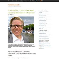 Timo Jäppinen: myyvä verkkoteksti vetoaa sekä tunteisiin että järkeen · Nettibisnes.Info