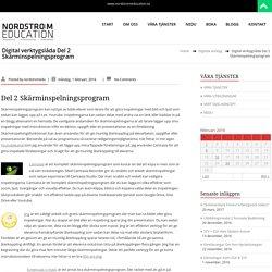 Digital verktygslåda Del 2 Skärminspelningsprogram – NODSTRÖM EDUCATION