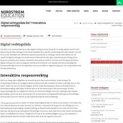 Digital verktygslåda – NODSTRÖM EDUCATION
