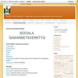Digitala verktygslådan: Social samarbetsverktyg