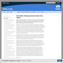 Tata Steel verlengt sponsorcontract met Telstar