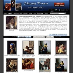 Jan Vermeer Van Delft - The complete works