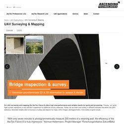 UAV Vermessung & Kartografie /// Vermessungsdrohne : Ascending Technologies GmbH