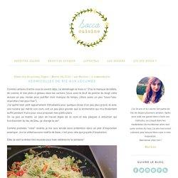 Vermicelles de riz aux légumes