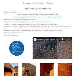 Porky Hefer Works - Vernacular Architecture & Design