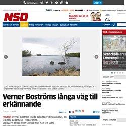 Verner Boströms långa väg till erkännande - Kultur - NSD.se