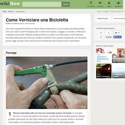 Come Verniciare una Bicicletta: 13 Passaggi - wikiHow