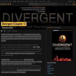 VeronicaRoth – Divergent (Chapter 1)