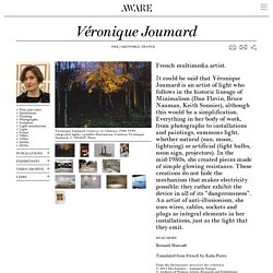 Véronique Joumard — AWARE Archives of Women Artists, Research and Exhibitions