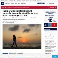 Veroparatiisien salat aukeavat – suomalaisten omistukset liki sadassa maassa verottajan syyniin