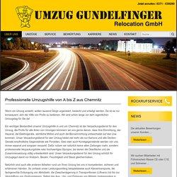 Verpackungsdienst für den Umzug in Chemnitz - Umzug Gundelfinger