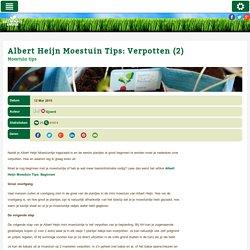 Albert Heijn Moestuin Tips: Verpotten (2) (Moestuin tips) - ZelfGroenteKweken