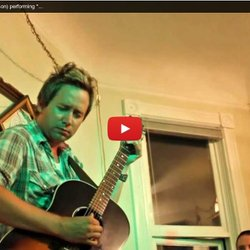 "▶ Shaun Verreault (Wide Mouth Mason) performing ""Sugarcane"" Live and Acoustic"