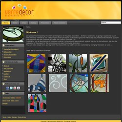 Verredecor: decoration sur verre