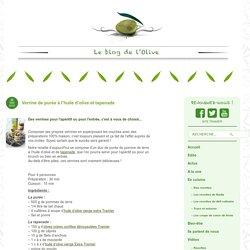 Verrine de purée à l'huile d'olive et tapenade - Huile d'olive - huile d'oliv...