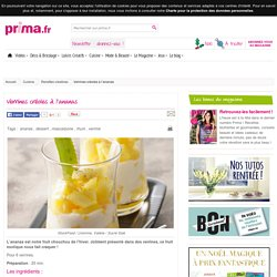 Verrines créoles à l'ananas