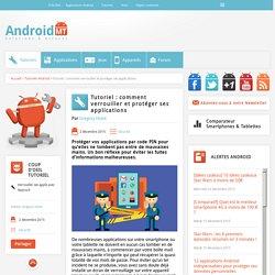 comment verrouiller et protéger ses applications Android MT
