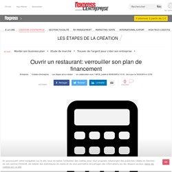 Ouvrir un restaurant: verrouiller son plan de financement - L'Express L'Entreprise
