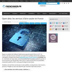Open data: les verrous à faire sauter en France