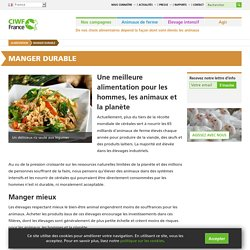 Vers une alimentation durable / Association CWIF Compassion in world farming