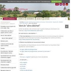 """Vers le """"zéro déchet"""" — Chaumont-Gistoux"""
