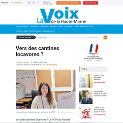 LAVOIXDELAHAUTEMARNE 26/02/20 Vers des cantines locavores ?
