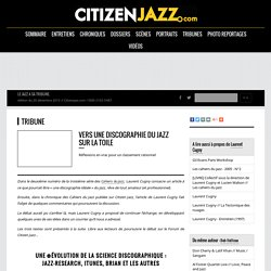 Vers une discographie du Jazz sur la Toile
