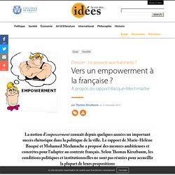 Vers un empowerment à la française ?