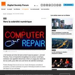 Vers la sobriété numérique