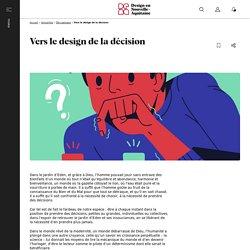 Vers le design de la décision