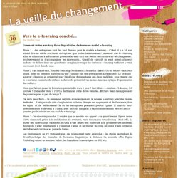 Vers le e-learning coaché