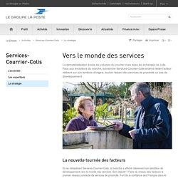 Vers le monde des services