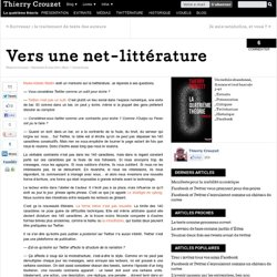 Vers une net-littérature