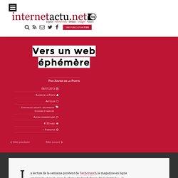 Vers un web éphémère