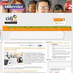 Créteil, Paris, Versailles : nos conseils pour candidater en licence 1 sur APB - Admission Post Bac : tout savoir
