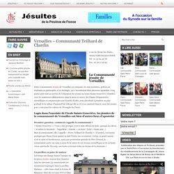 Versailles – Communauté Teilhard de Chardin